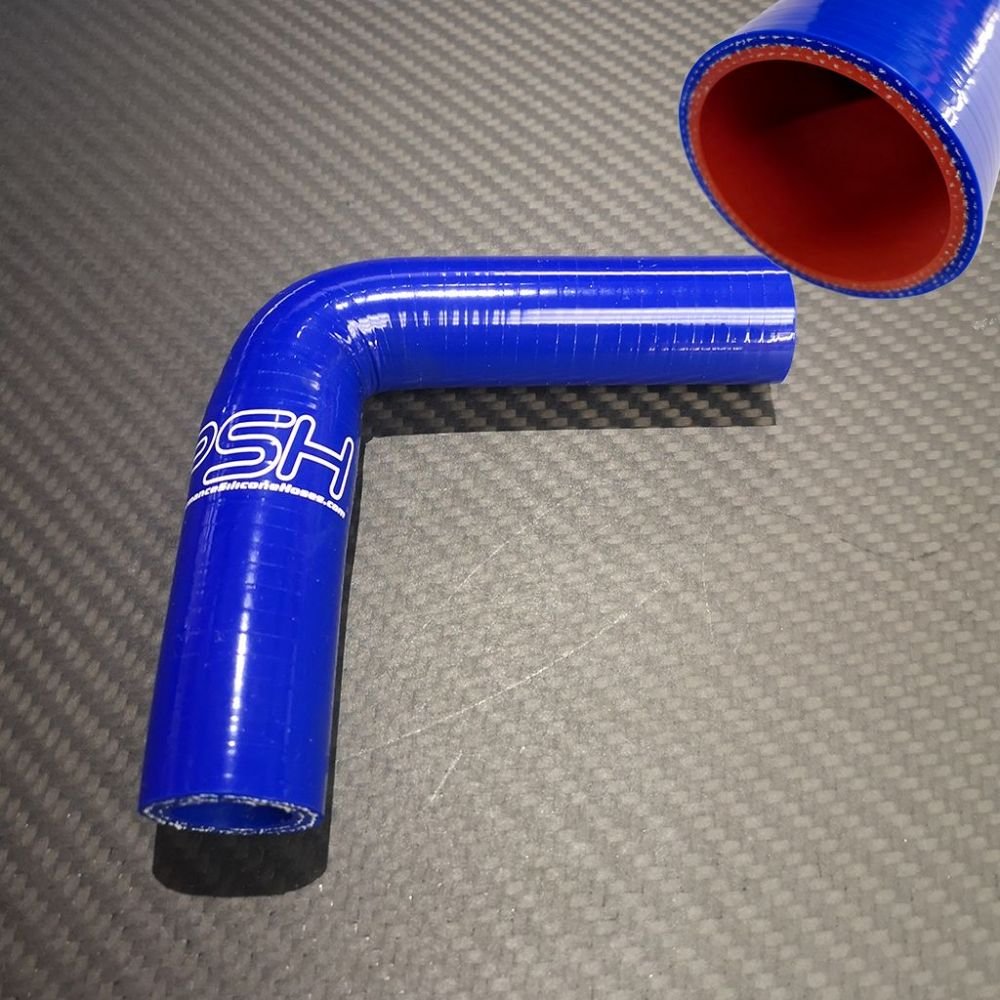 38-35mm High Temp Silicone Hose Elbow Reducer 90 Degree